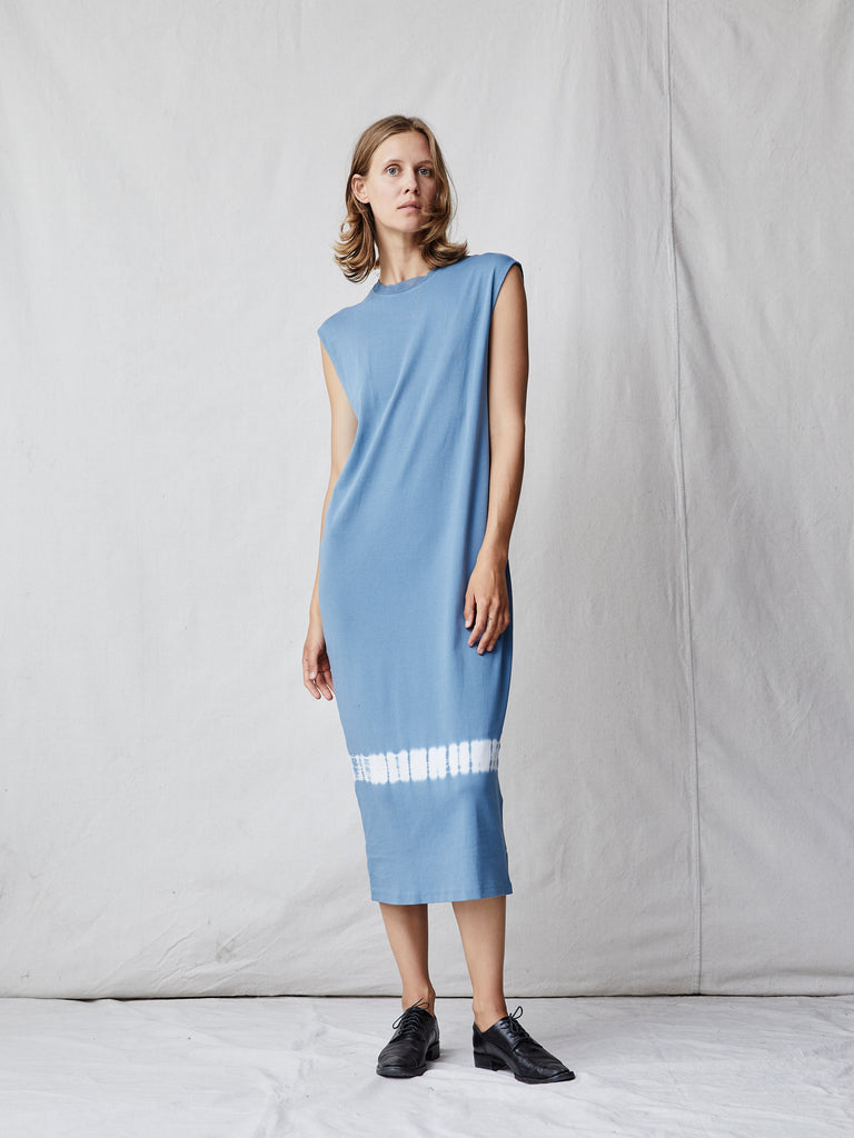 Ocean Cotton Medley Column Dress