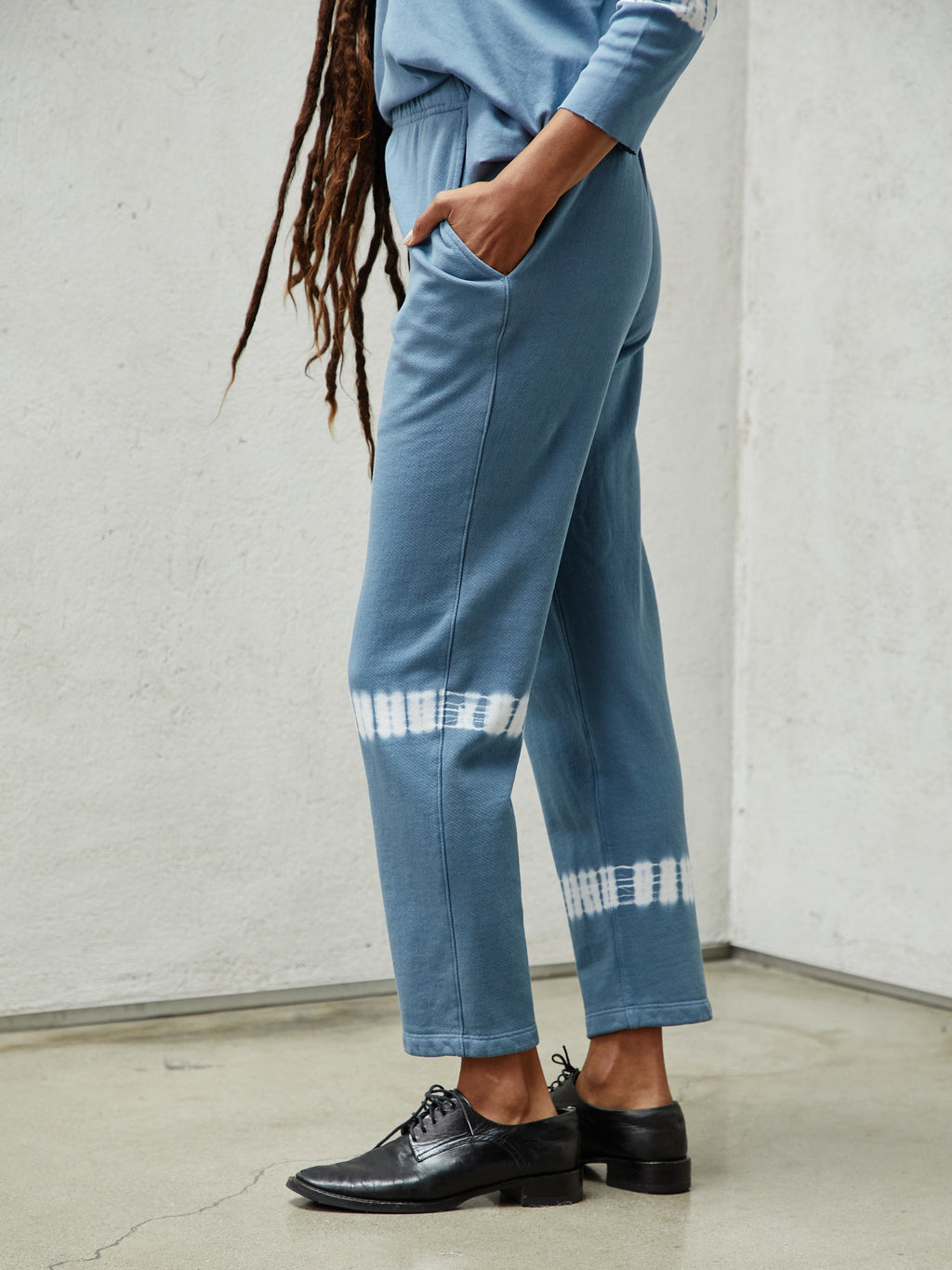 Ocean Cotton Medley Ankle Pant
