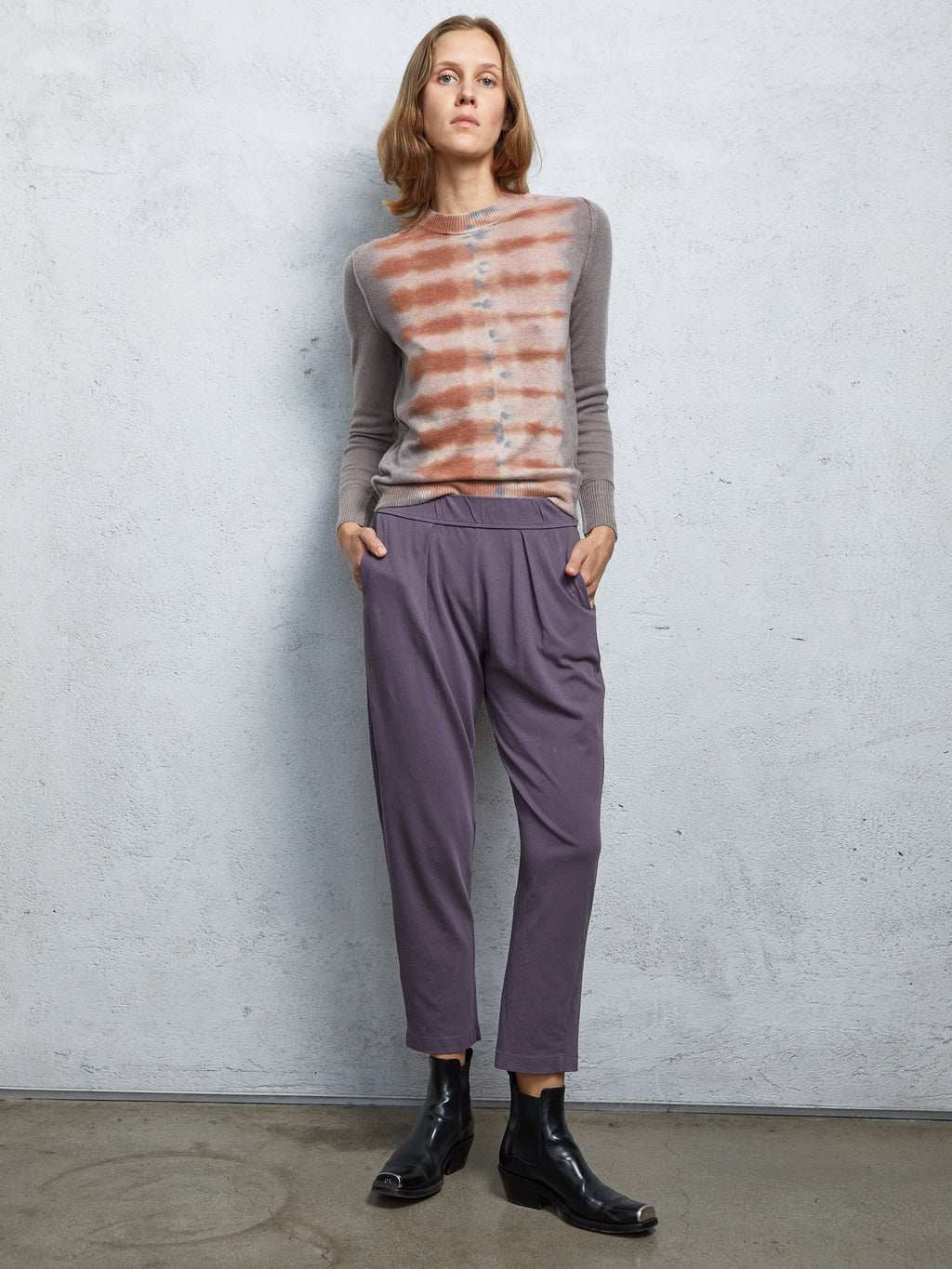 Dusty Purple Jersey  Easy Pant