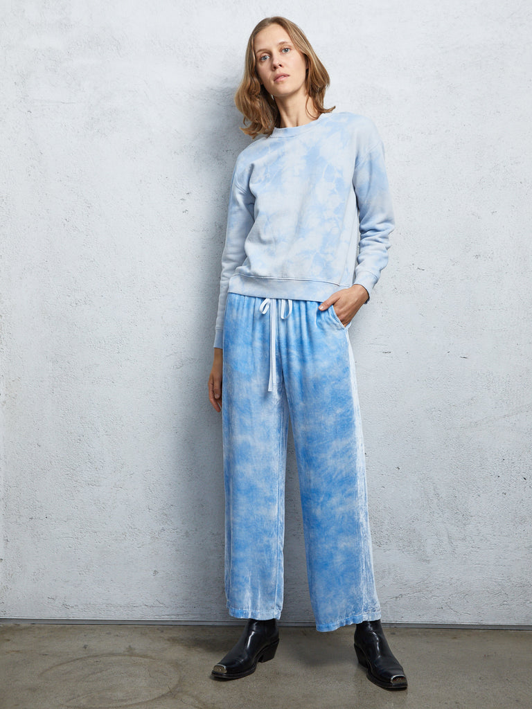 Cloud Wash Blue Vintage Fleece Classic Sweatshirt
