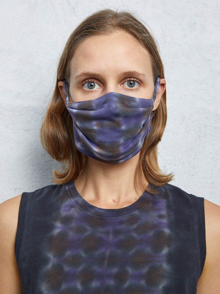 Night Orchid Jersey  Mask
