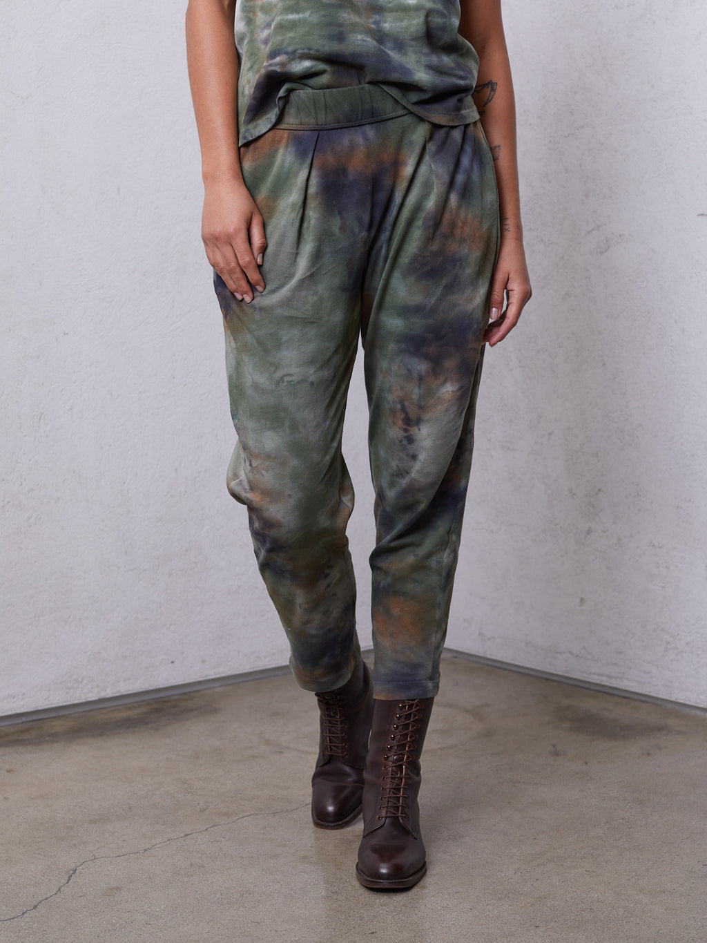 Army Camo Jersey Easy Pant