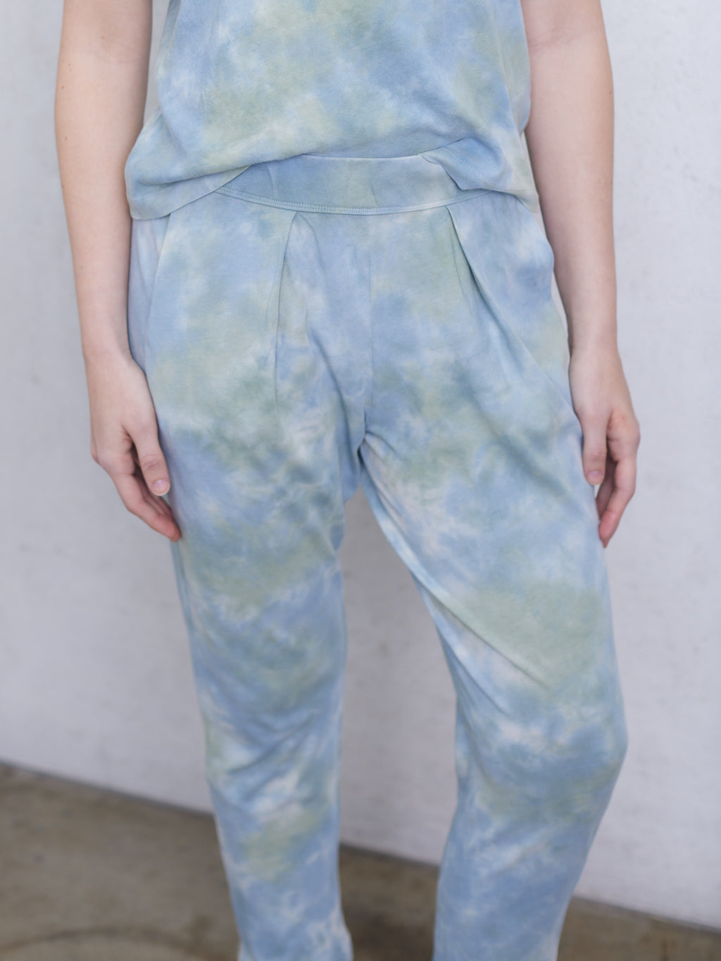 Sky Camo Jersey Easy Pant