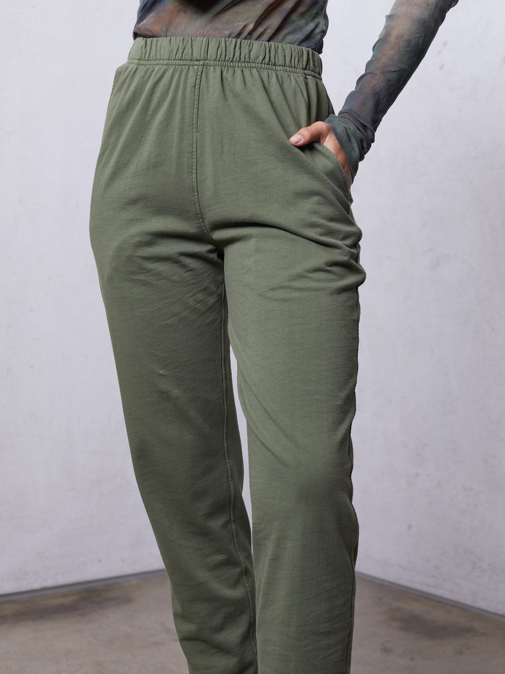 Army Cotton Medley Ankle Pant
