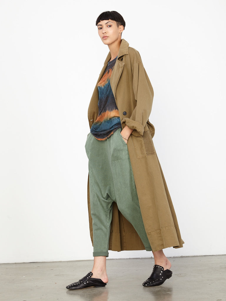Army Vintage Canvas Oversize Duster