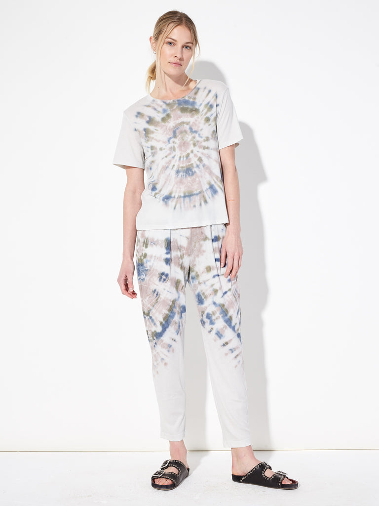 Earth Tie Dye Jersey Easy Pant