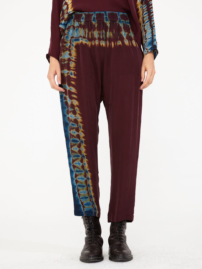 Mulberry Silk Tie Dye Sunday Pant