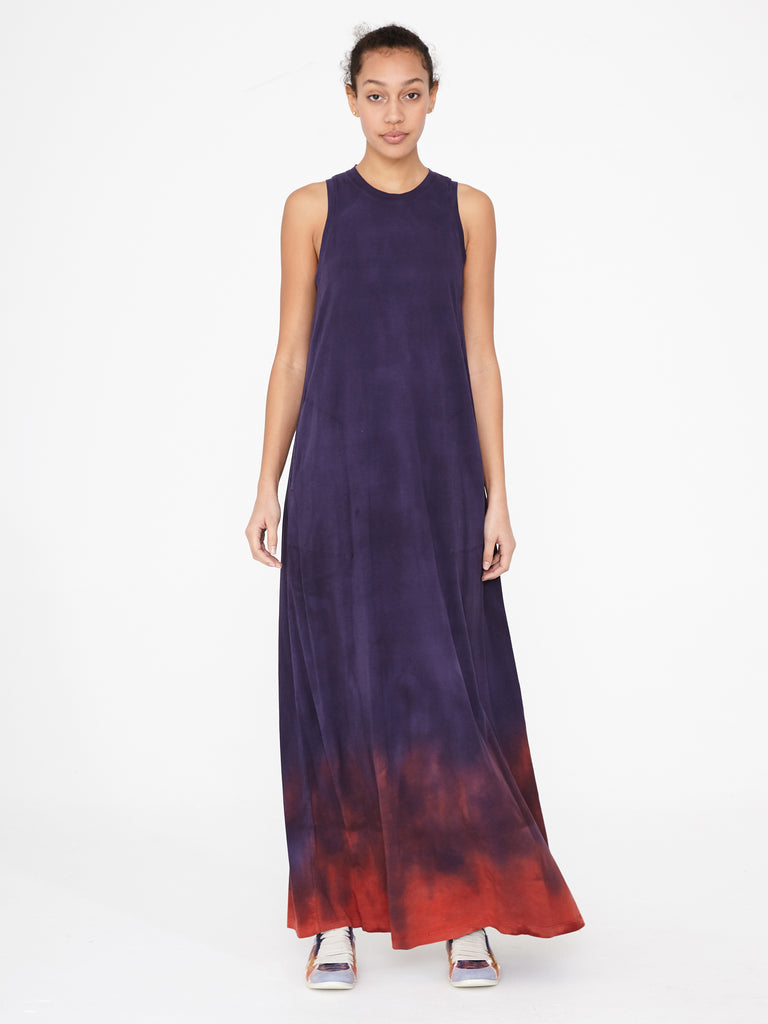 Night Shade Jersey Sleeveless Drama Maxi
