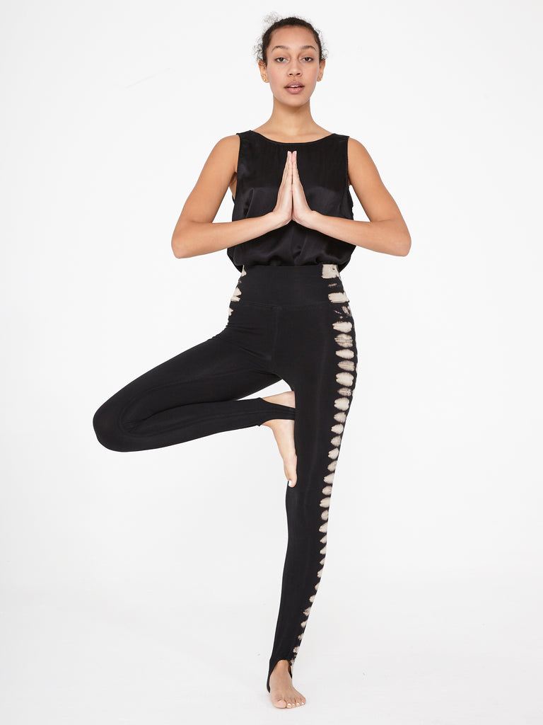Black Earth Jersey Stirrup Legging