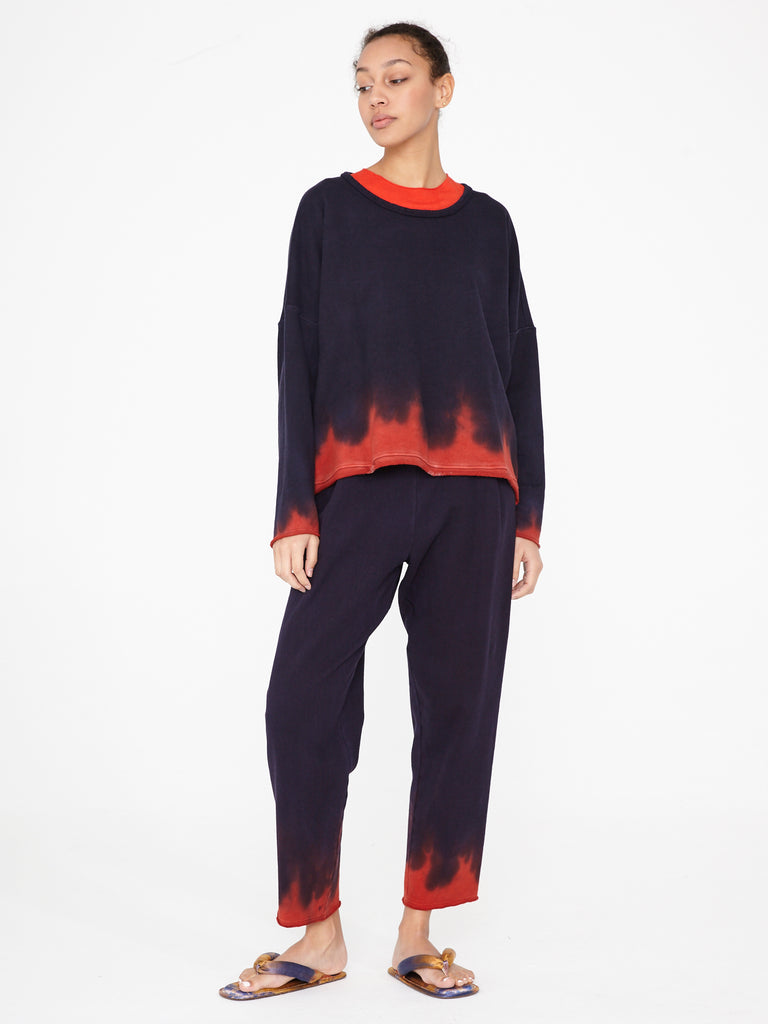 Night Shade Fleece Pleat Sweatpant