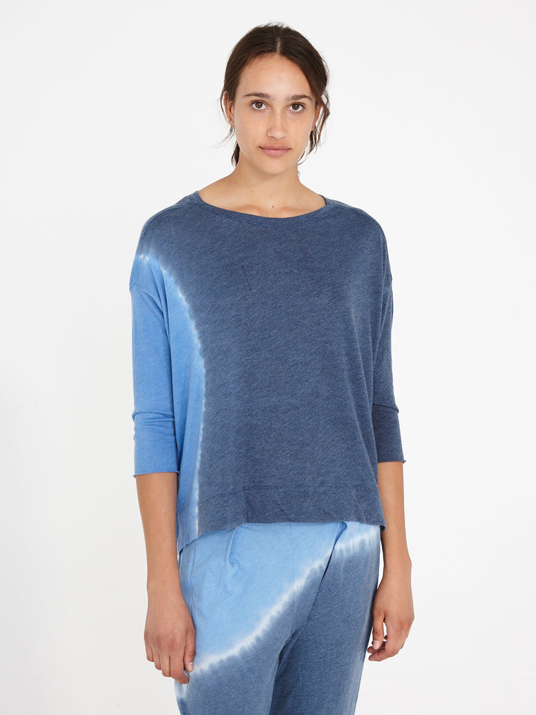 Sky Jersey 3/4 Sleeve Cocoon