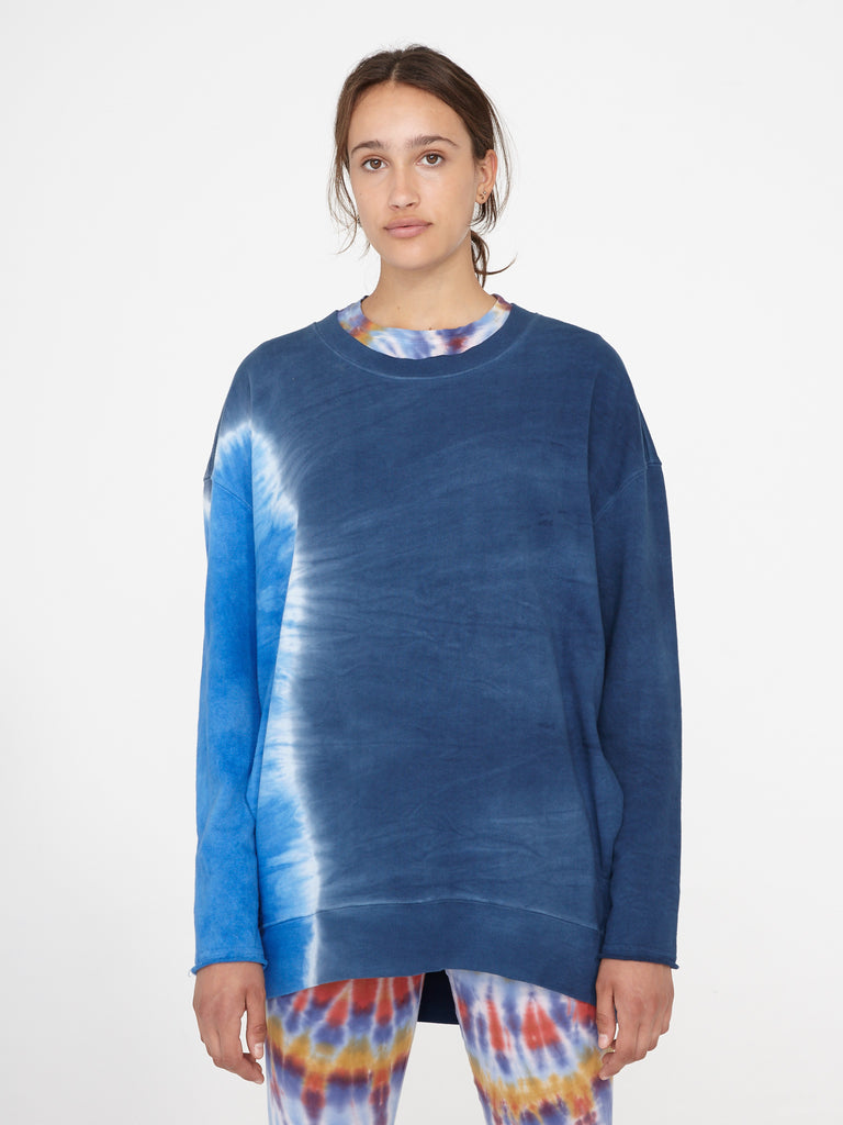 Sky Two Tone Oversize Sweatshirt