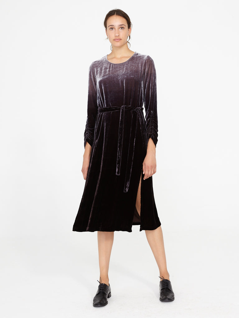 Night Ombre Velvet Jane Dress