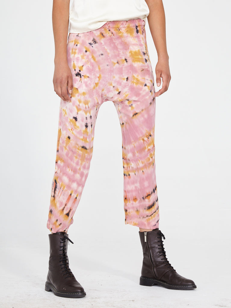 Pink Eclipse Tie Dye New Sunday Pant