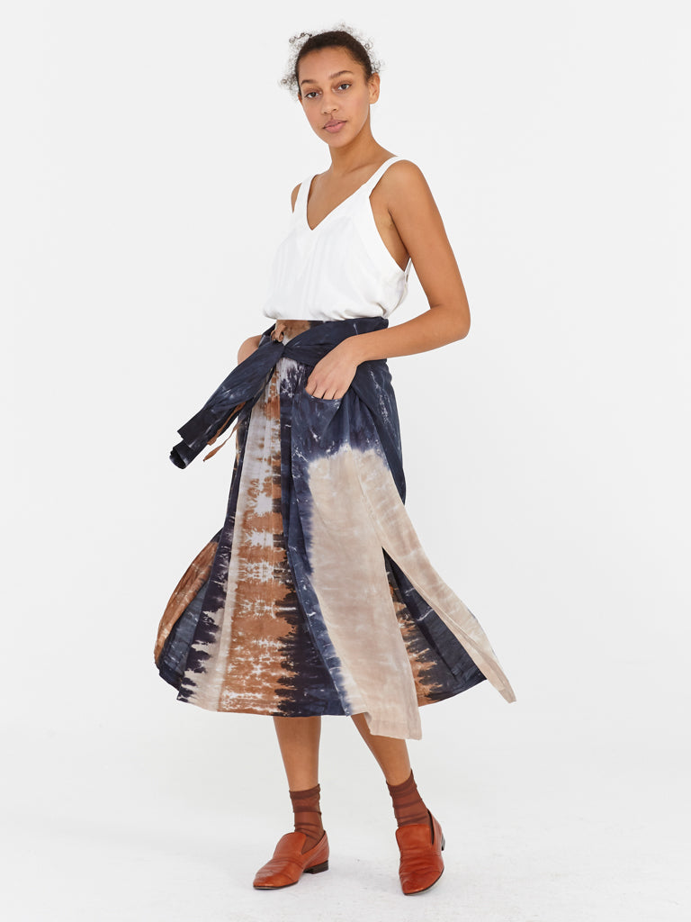 Caves Tie Dye Pocket Skirt