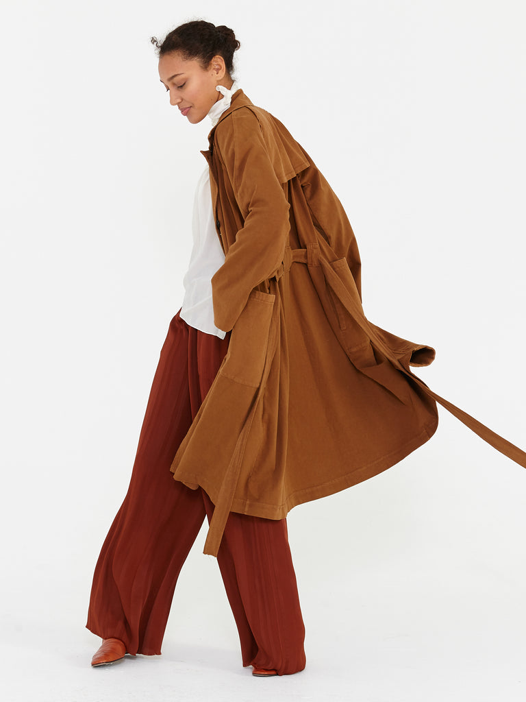 Spice Tailoring Jersey Trench