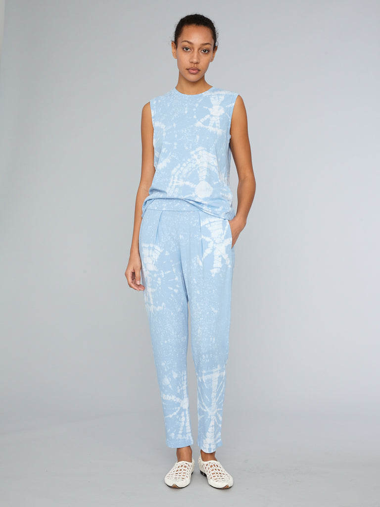 Blue Constellation Jersey Easy Pant