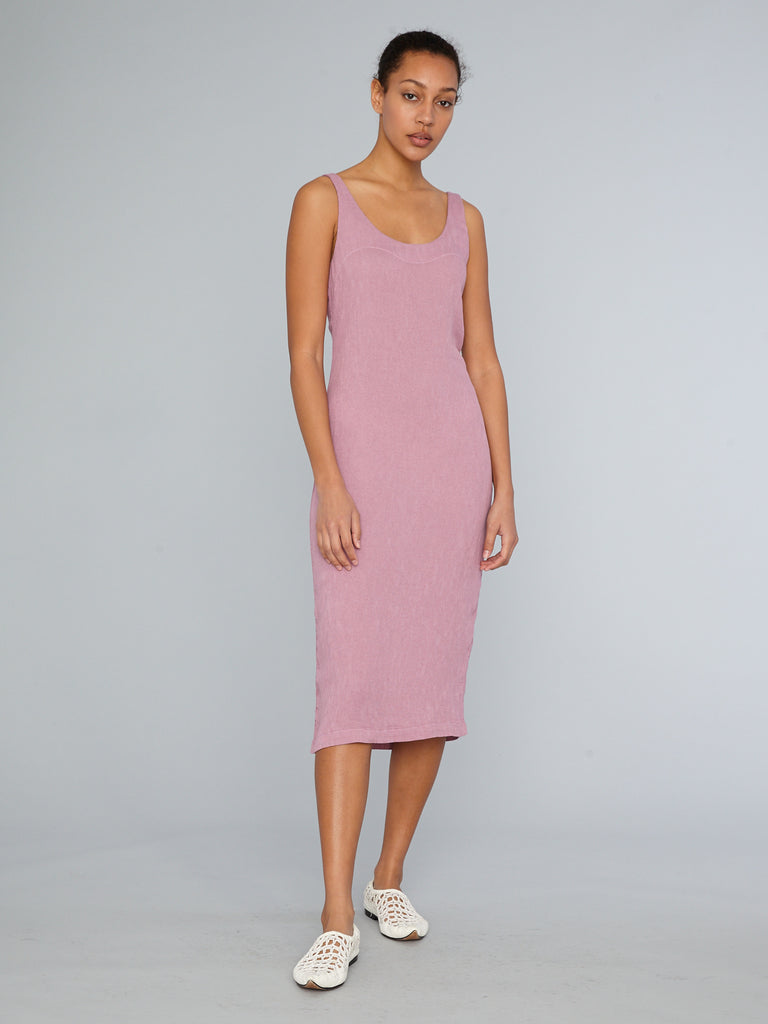 Mauve Easy Tank Dress