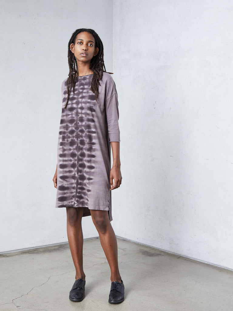 Mauve Jersey Cocoon Dress
