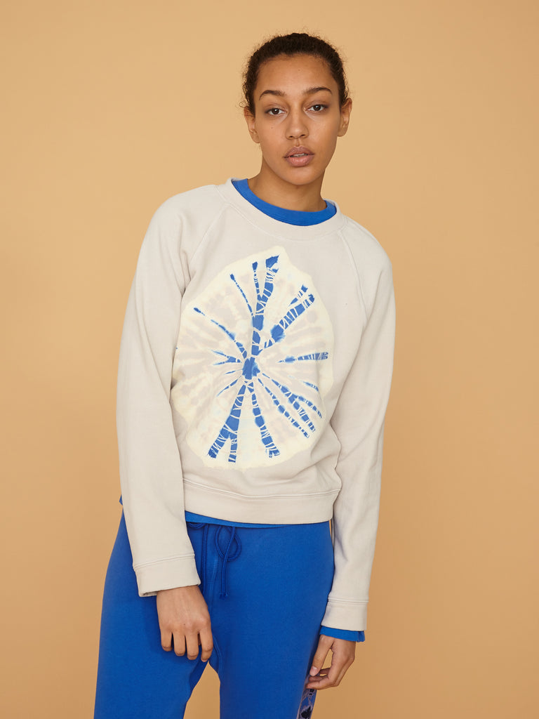 Saturn White Raglan Sweatshirt