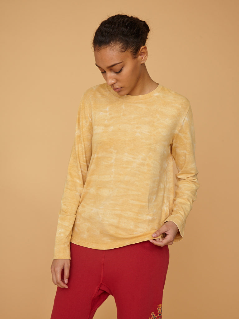 Mellow Yellow Jersey Long Sleeve Crew