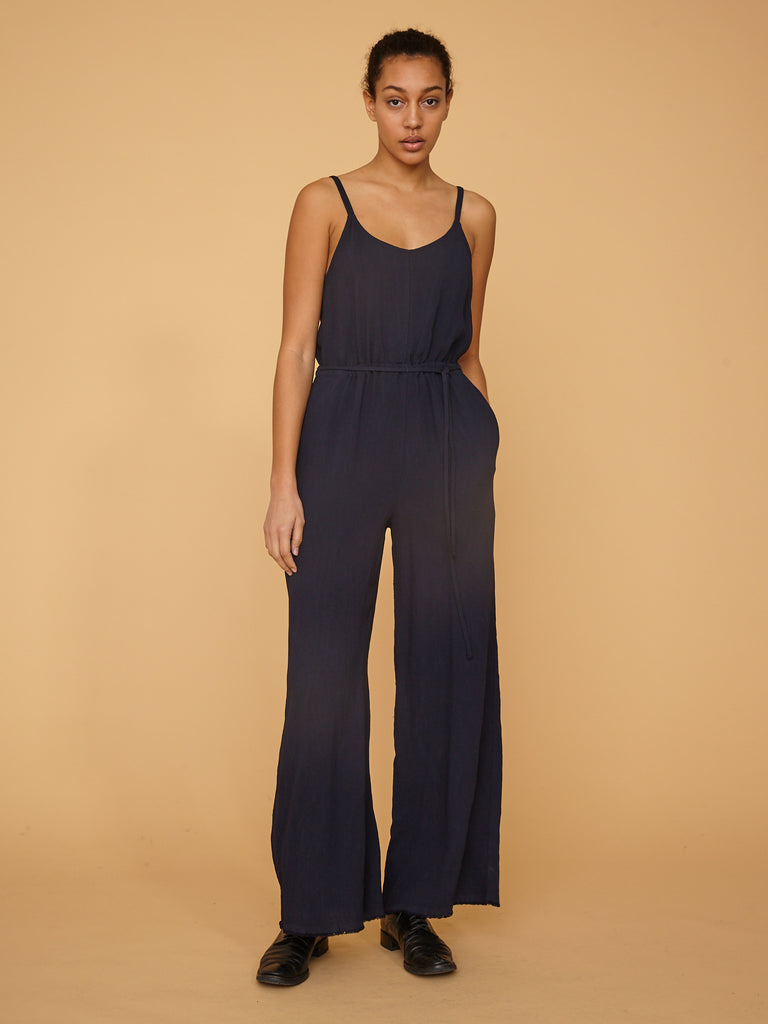 French Navy Bianca Jumpsuit