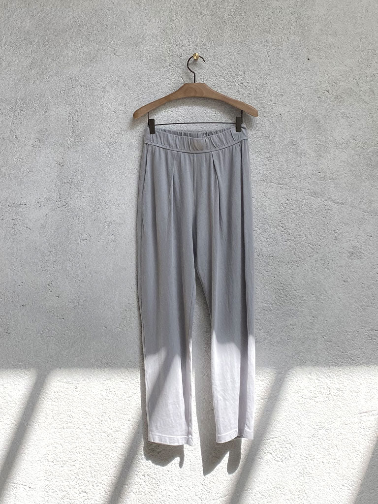 Grey Blue Jersey Easy Pant