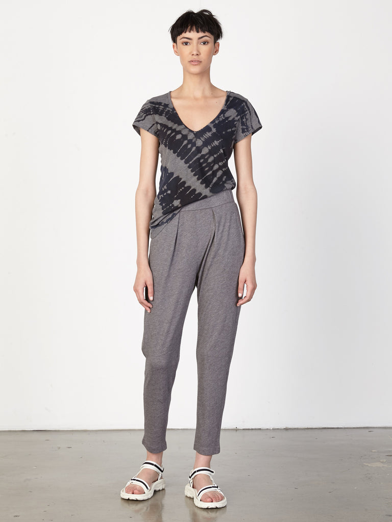 Grey Jersey Easy Pant