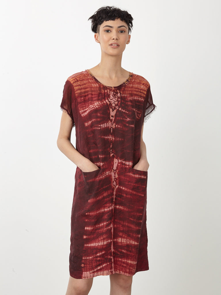 products/y71-6533_Oxblood_Tie_Dye_Silk_Contrast_Panel_Dress1876.jpg