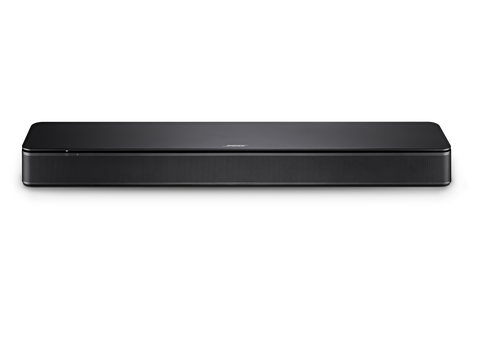 The Bose TV Speakers is a more compact and affordable Soundbar