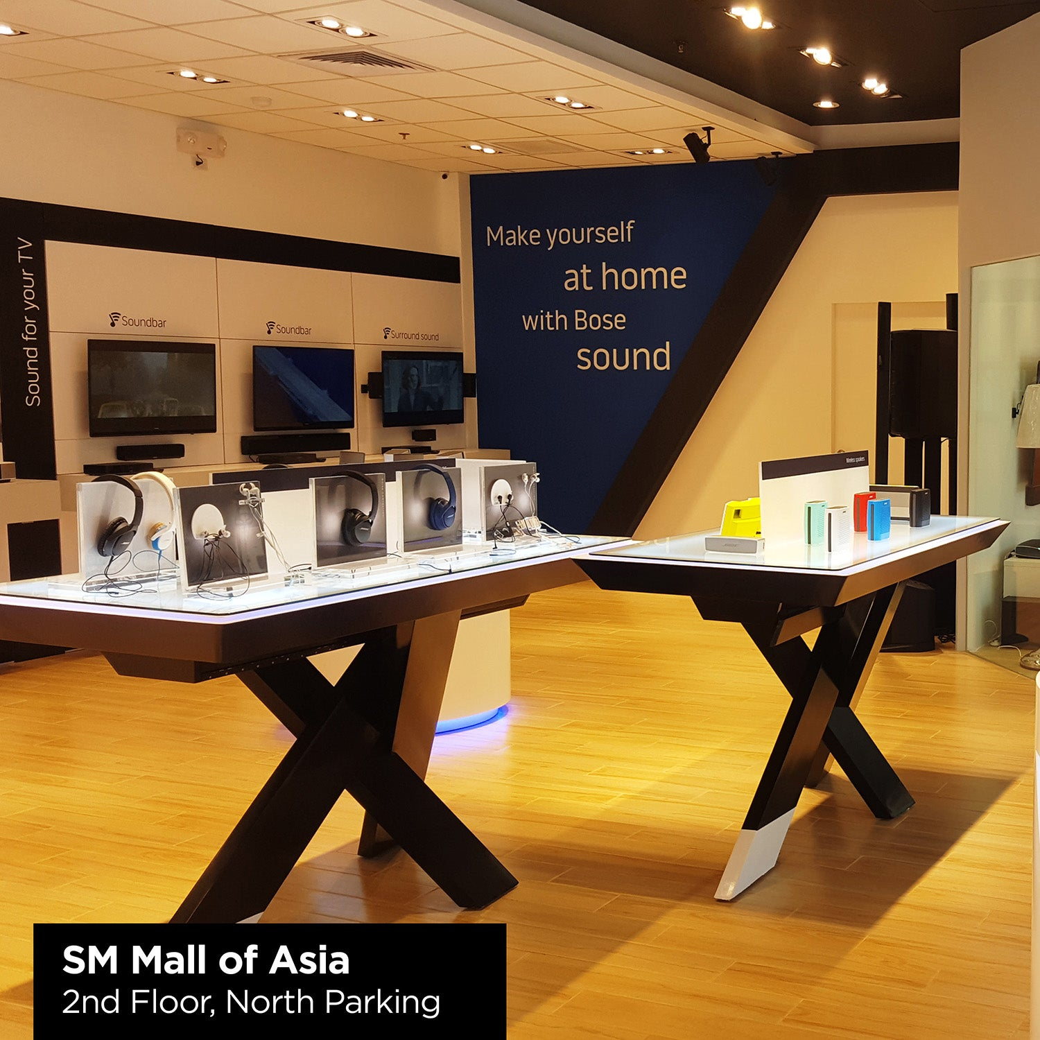 Bose Philippines SM Mall of Asia