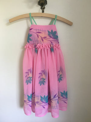 Estelle Dress Hawaii Pink