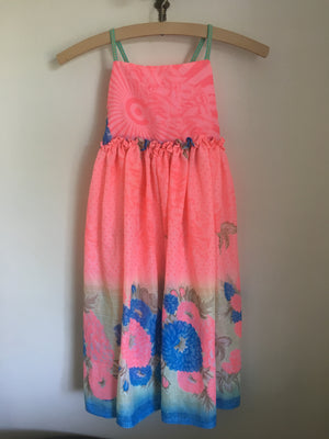 Estelle Dress Fluro Pink