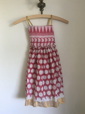 Estelle Dress Red Polka Dot