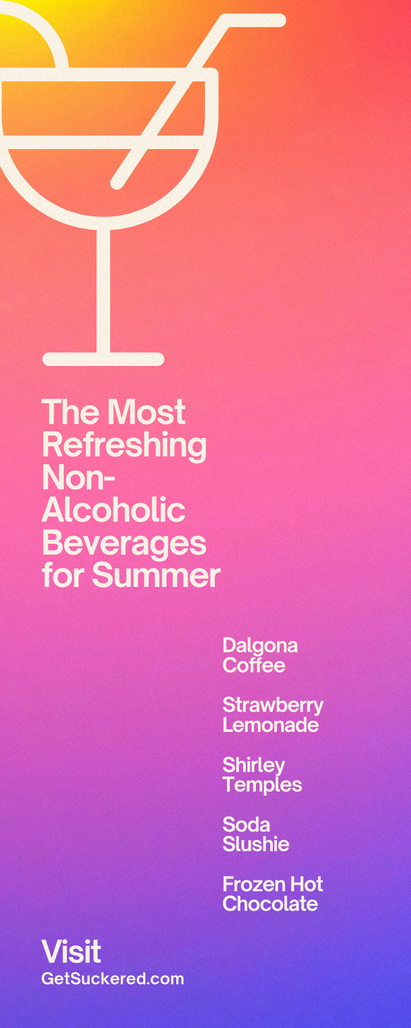 The Most Refreshing Non-Alcoholic Beverages for Summer