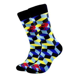 Q*bert Socks (Large)