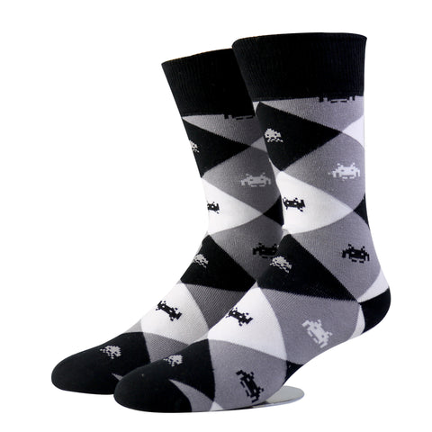 Space Invaders Socks (Medium)