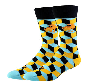 Q*bert Socks (Medium)