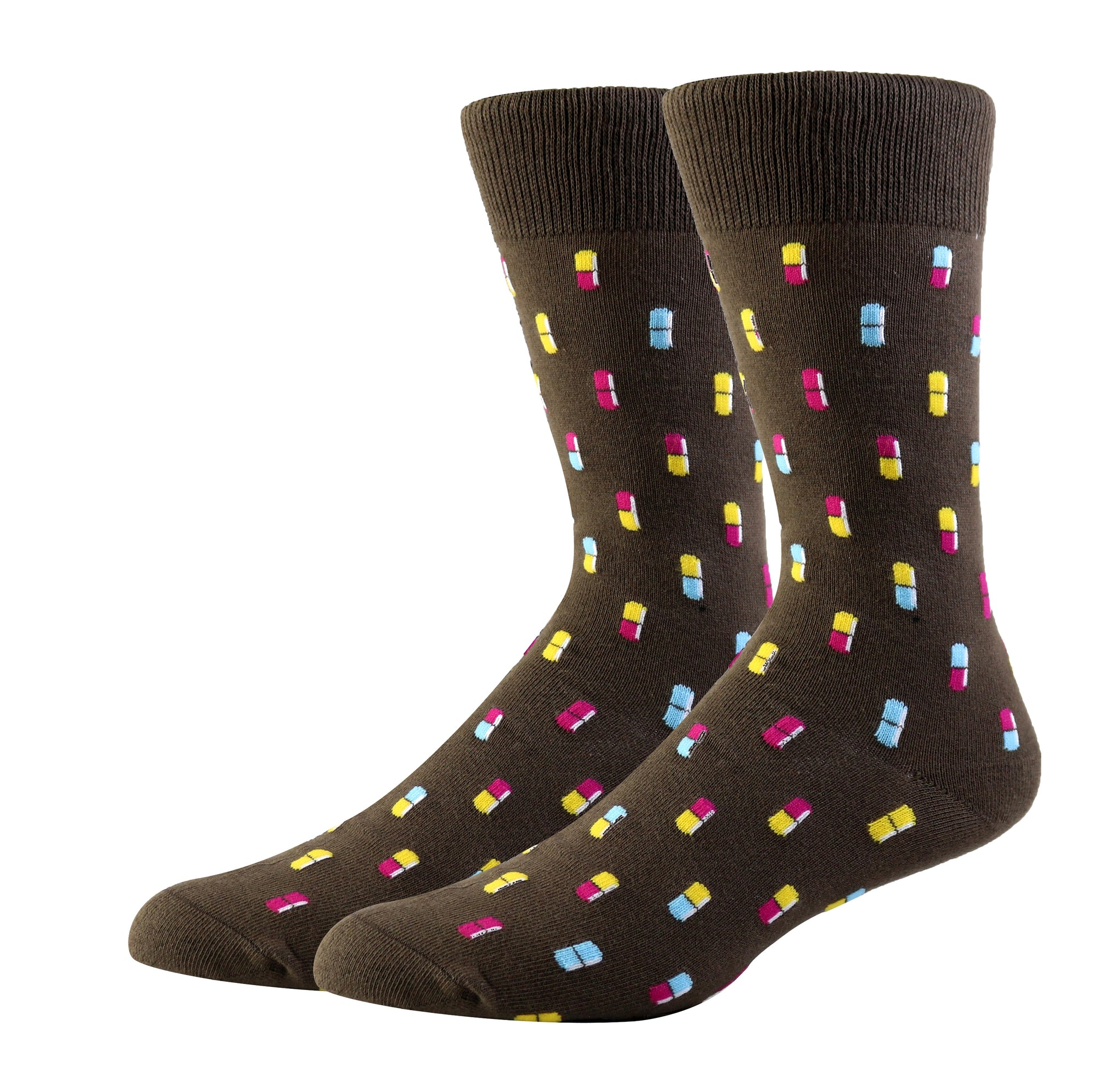 Dr. Mario Socks (Medium)