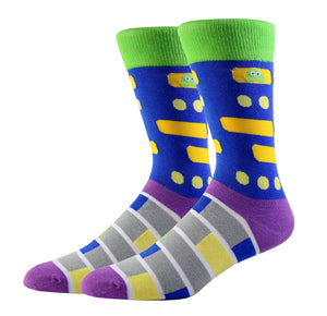 Frogger Socks (Medium)