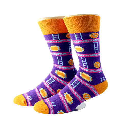 Donkey Kong Socks (Medium)