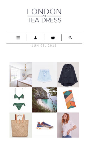 London Tea Dress Company - 'Journal' - June 2019