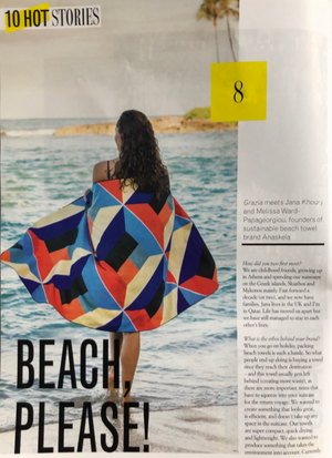 Grazia Qatar - July August 2019