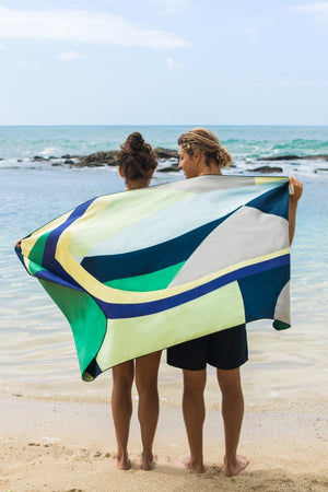 recycled ecofriendly beach towel - anaskela