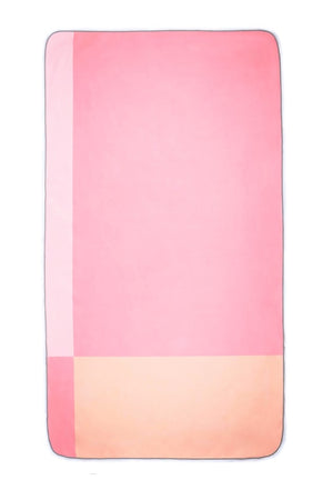 pink eco travel towel - anaskela