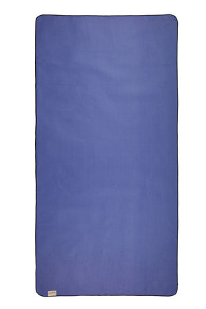 blue sustainable beach travel towel - anaskela
