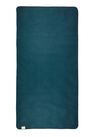 back of blue patterned towel - anaskela