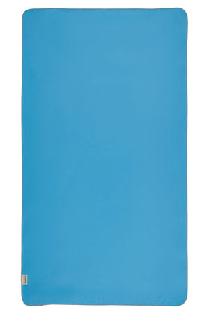 blue microfibre swimming towel - anaskela