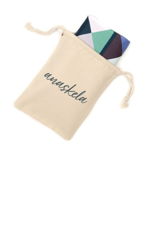travel towel in pouch - anaskela