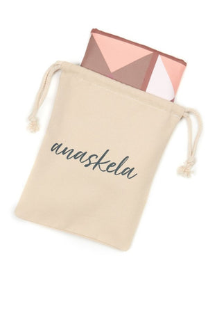 compact beach towel in pouch - anaskela